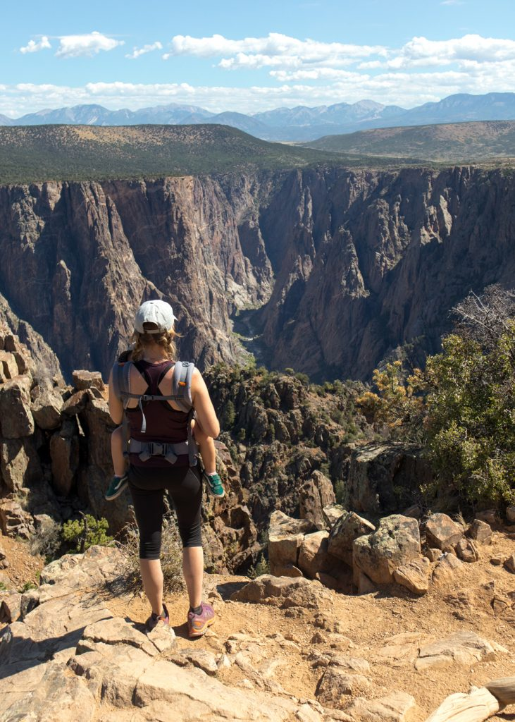 Black Canyon of the Gunnison peuter draagzak