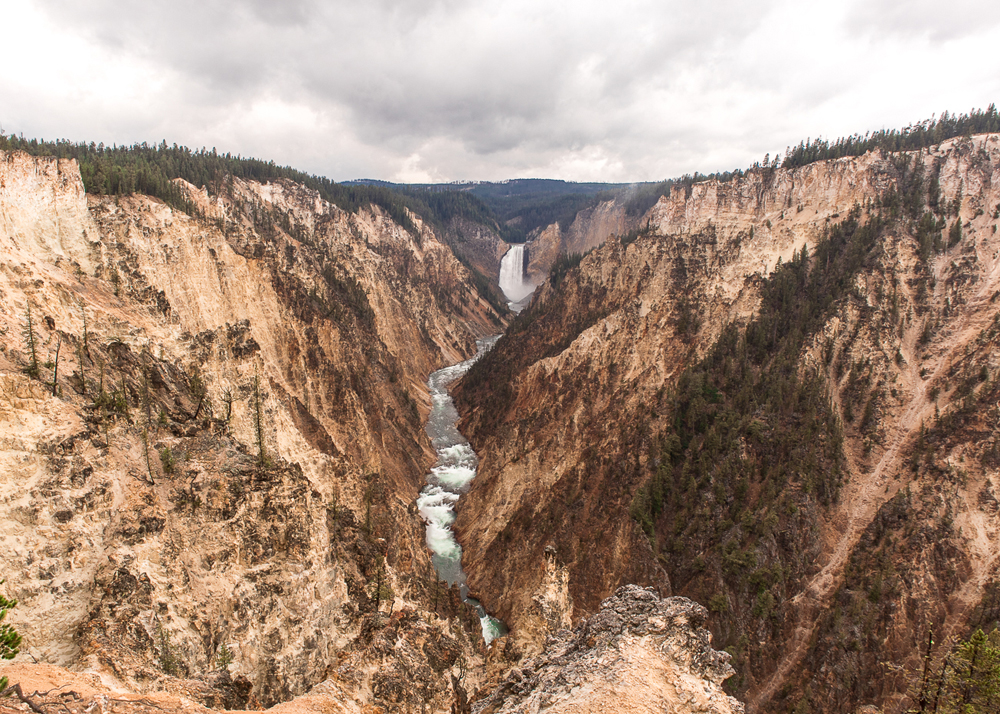 Bezoek de Grand Canyon in Yellowstone National Park