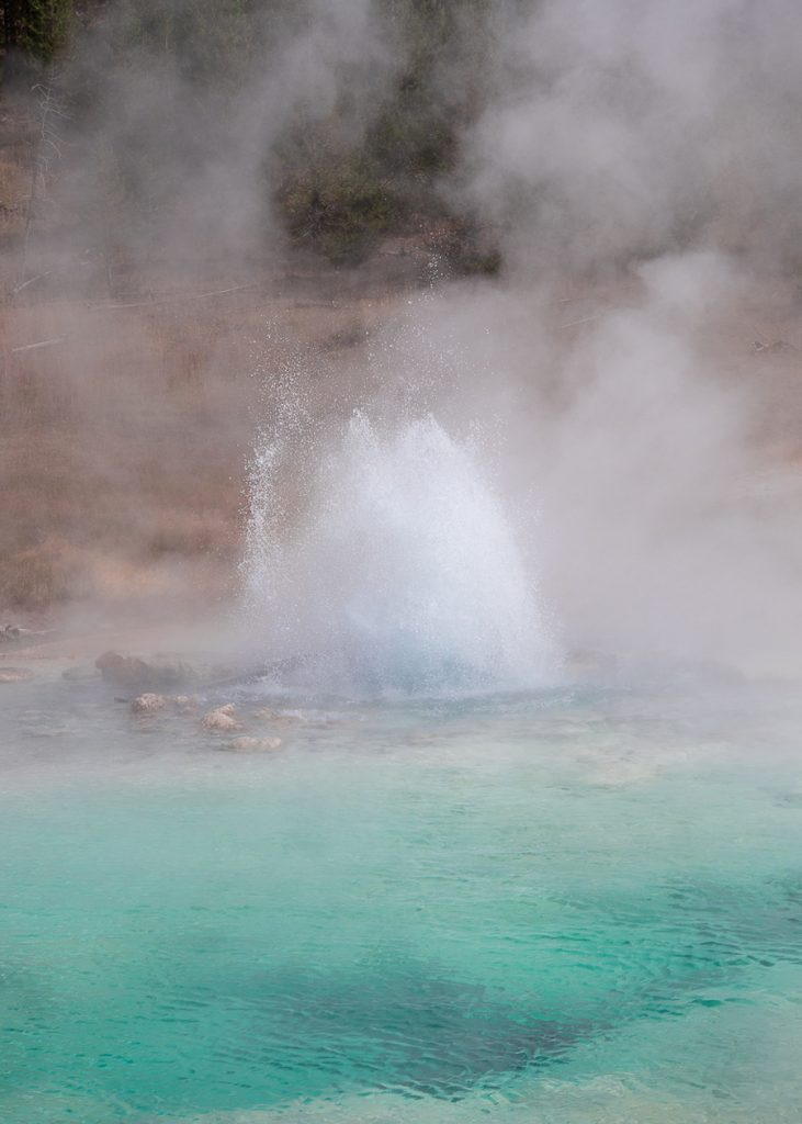 Imperial Geyser in Yellowstone National Park bezoeken
