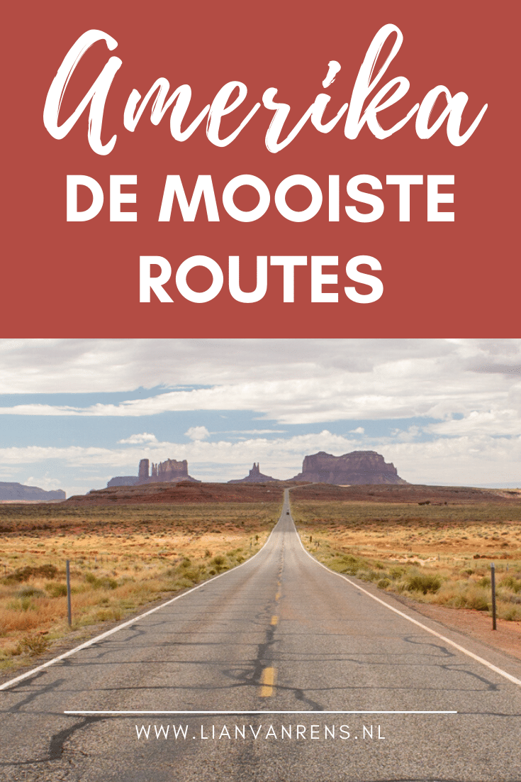 De mooiste routes in Amerika - Pinterest